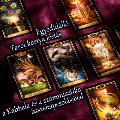 tarot kártya jóslás 6 lapos kabbala